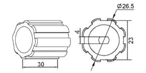 AdaptersetRohrmotorenNEU1